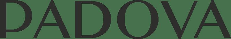 logo tienda padova negro