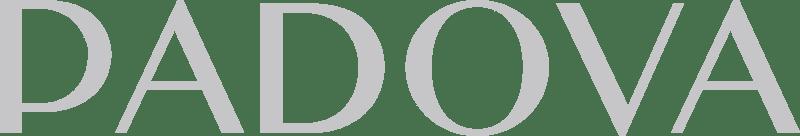 logo footer tienda padova gris